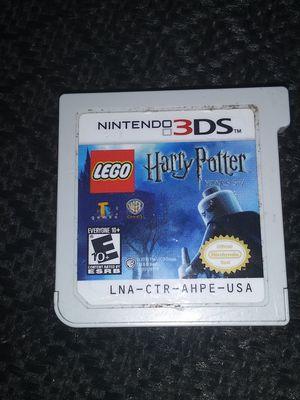 Juego de Nintendo 3DS de Harry Potter en S15 for Sale in Pasadena, TX