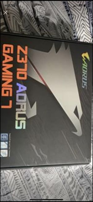 AORUS gaming 7 Z370 PICK UP ONLY for Sale in West Salem, WI