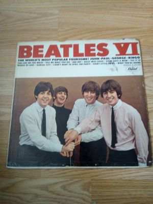 1964 Beatles VI Original LP Record, for Sale in Los Angeles, CA