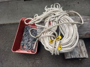 """240 ft 3/4"""" anchor line. for Sale in Gig Harbor, WA"""