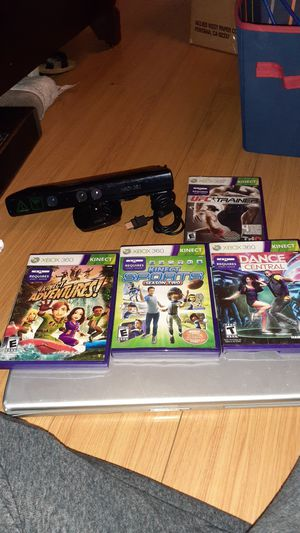 Brand new Xbox 360 games that require a sensor whoch is also on sale. for Sale in Santa Ana, CA