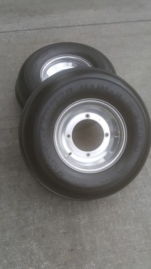 Front Sand Tires Yamaha bolt pattern for Sale in Milwaukie, OR