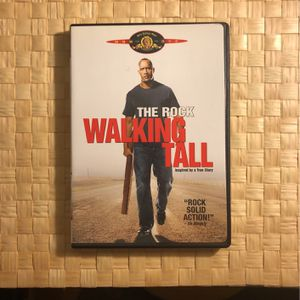 Walking tall. Featuring Dwayne the rock Johnson. Inspired by a true story for Sale in Long Beach, CA