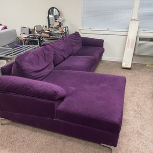 Purple Sectional for Sale in West Linn, OR