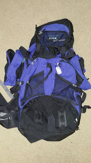 LL Bean internal frame backpack for Sale in Oxford, MA
