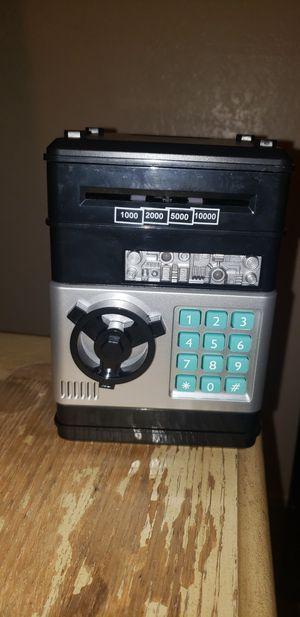 Password money electronic piggy bank atm for Sale in Clovis, CA