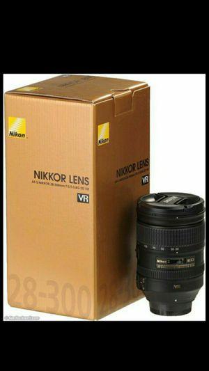 Nikon Lens AF-S NIKKOR for Sale in Leesburg, VA