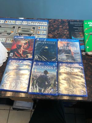 Ps4 brand new sealed games for Sale in Clifton, VA