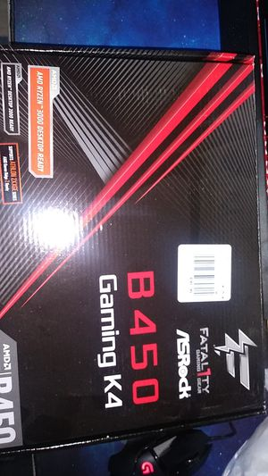Asrock B450 Gaming K4 Motherboard for Sale in Rowland Heights, CA
