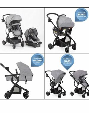 New! Grey Urbini Stroller & infant Car Seat 3 in 1 for Sale in MONTGMRY, IL