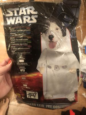 Princess Leia Dog Costume for Sale in Turlock, CA