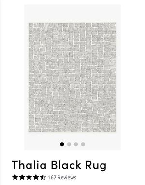 Ruggable - Thalia Black Rug (8x10) for Sale in Mill Creek, WA