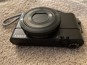 "Sony RX100 20.2 MP Premium Compact Digital Camera w/ 1-inch sensor, 28-100mm ZEISS zoom lens, 3"" LCD for Sale in Beverly Hills, CA"