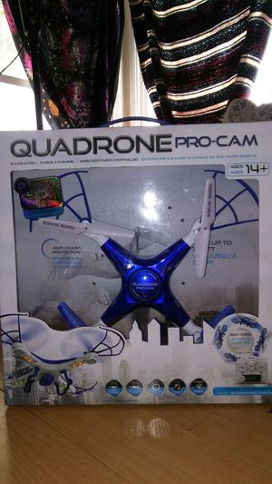 Quadrone drone with camera for Sale in Los Angeles, CA