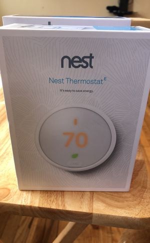 New Nest E thermostat for Sale in Silver Spring, MD