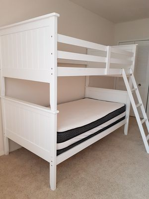 Bunk bed with ladder for Sale in Bailey's Crossroads, VA