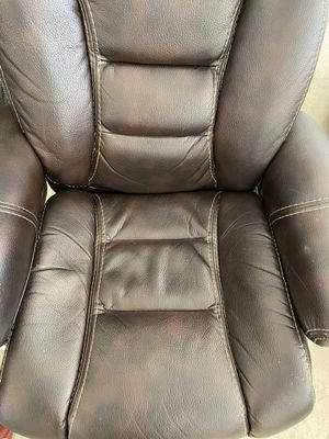 Leather recliner for Sale in Sun Lakes, AZ