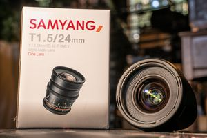 Samyang 24mm t1.5 for Sale in Orange, CA