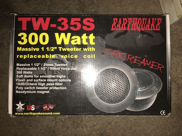 Earthquake Screamer Car Audio Product