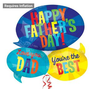 Large Father's Day Mylar Balloon for Sale in Hampton, VA