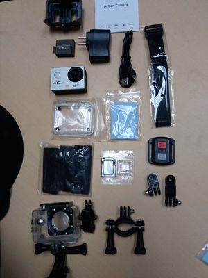 4k camera with accessories for Sale in Las Vegas, NV