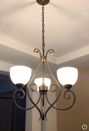 Indoor light fixture for Sale in Delaware, OH