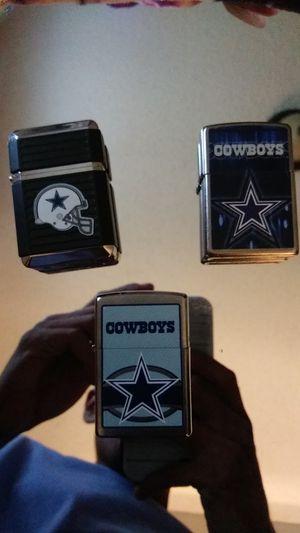 Dallas Cowboys zippo lighters for Sale in Dallas, TX