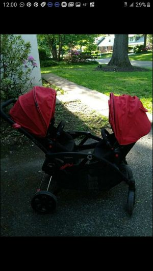Contours double stroller for Sale in Bethlehem, PA