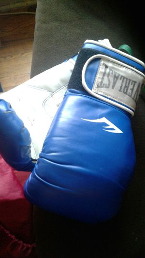 Everlast boxing gloves for Sale in Adelphi, MD
