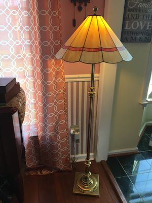 Tiffany Floor Lamp/ stained glass for Sale in Centreville, VA