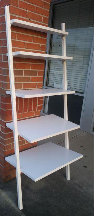 Very Nice White Decorative Ladder Shelf for Sale in Norcross, GA