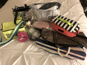 PINK Bundle $120/OBO Everything bc included (NWT), backpack,blanket &More for Sale in Pomona, CA