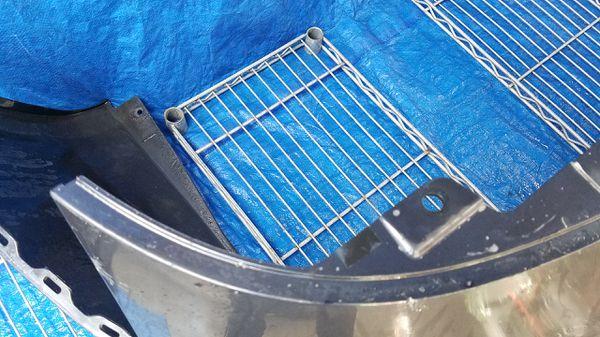 2007 - 2015 INFINITI G35 G37 Q40 REAR BUMPER COVER BLUE