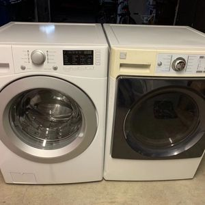 Kenmore Set Washer And Dryer Good Working Condition for Sale in Hacienda Heights, CA
