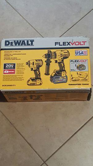 Dewalt Flexvolt Combo Drills!!! for Sale in Hazard, CA