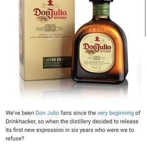 Tequila Don Julio Reposado Double Cask Buchanan's for Sale in Oakland, CA
