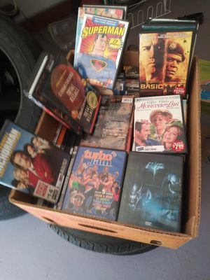 One banana box full of dvd about 65 or 70 for Sale in Stockbridge, GA