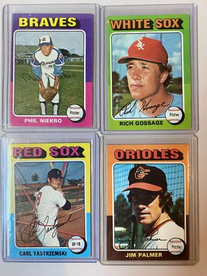 1975 Topps Hall of Fame Baseball Cards for Sale in Ijamsville, MD