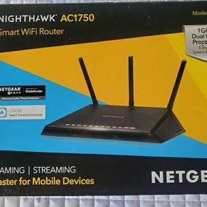 $50 NETGEAR NIGHTHAWK AC1750 SMART WIFI ROUTER for Sale in Las Vegas, NV