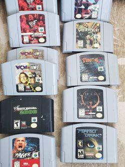 Nintendo 64 Games for Sale in El Cajon,  CA