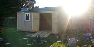 NEW ALL WOOD 16X10X9 COTTAGE STYLE SHED for Sale in Norfolk, VA