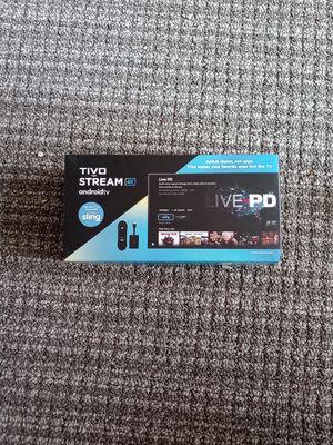 Tivo stream 4k for Sale in Seattle, WA