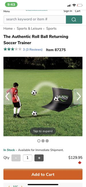 Soccer trainer for Sale in Euclid, OH