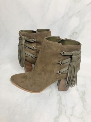 Marc Fisher NWOT Kadey Tassel Ankle Booties for Sale in Frisco, TX