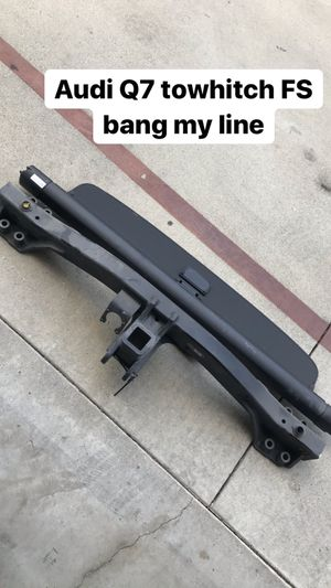 Audi Q7 parts lowering springs tow hitch for Sale in Whittier, CA