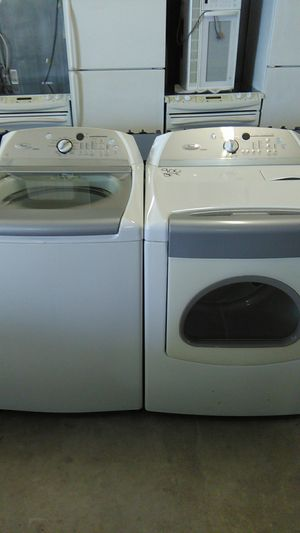Whirlpool cabrio washer and dryer one year warranty on all appliances delivery available for Sale in Orlando, FL