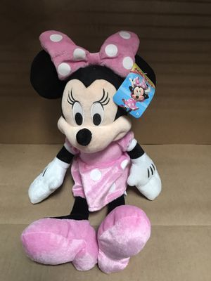 Minnie Mouse Pink Dress Plush for Sale in South El Monte, CA