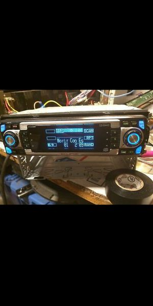 Eclipse CD 8443 Car Audio Stereo Receiver w/8V Preout old school for Sale in Santa Ana, CA