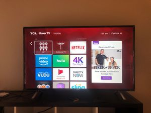 TCL 49inch Roku TV for Sale in Tempe, AZ