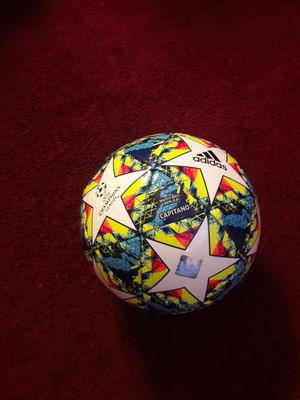 Adidas UEFA champions league Capitano balls for Sale in Los Angeles, CA